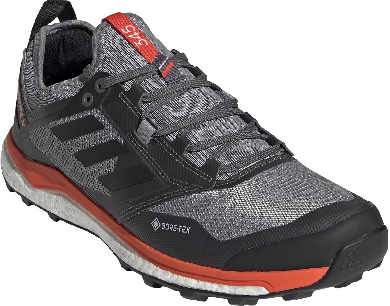 adidas TERREX Agravic XT GTX Chaussures Homme, grey fivecore blackactive orange